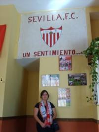 Sevillismo por los cuatro costados en la Sede social de la Peña Sevillista el Arrebato de Tenerife