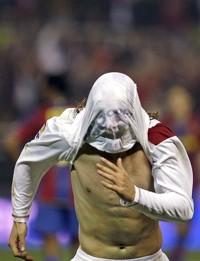 Empate a 1 entre Sevilla FC y FC Barcelona en Nervión en la Copa del Rey