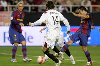 Empate a 1 ante el FC. Barcelona que sabe a poco.