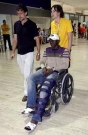 Koné se rompe la rodilla. Sufre la temida triada
