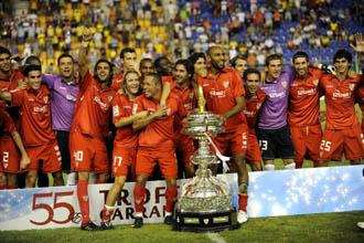 De nuevo el Carranza vuela a Sevilla.