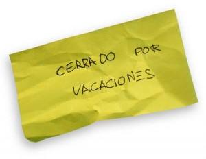Cerrado el weblog por Vacaciones.